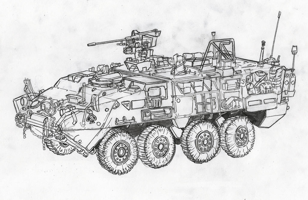 Stryker M1131 by KharnBetrayer