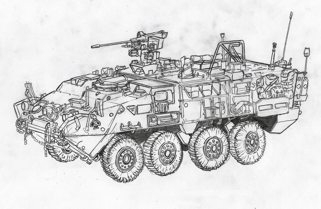 Stryker M1131 by YorickAngerfist