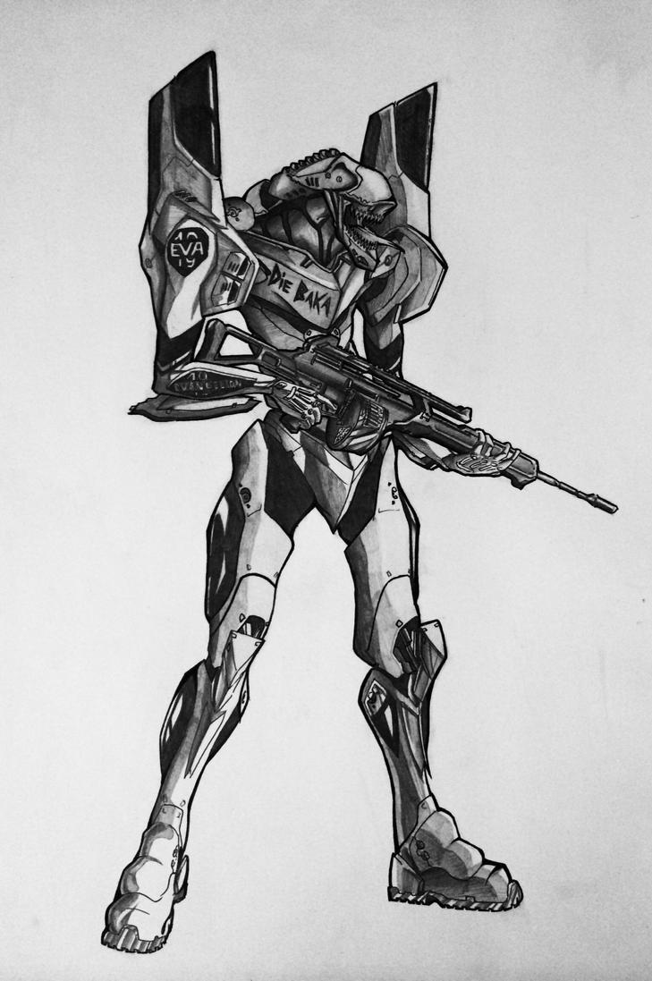 EVA-19 by KharnBetrayer