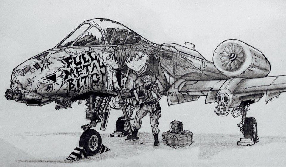 A-10 Thunderbolt by KharnBetrayer