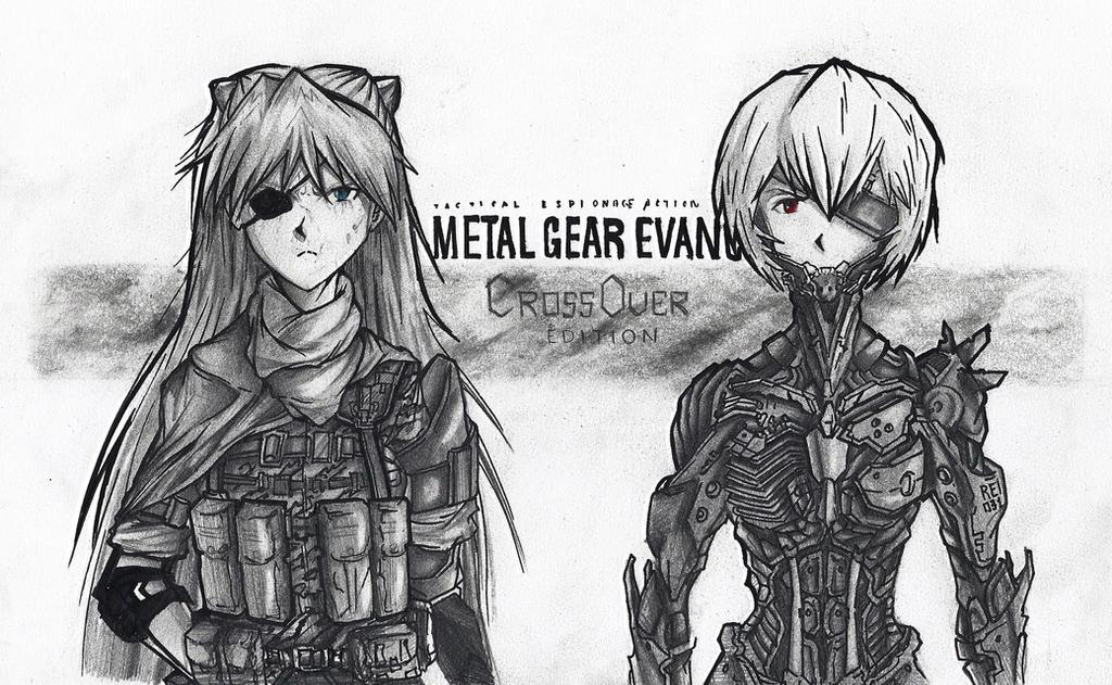 Metal Gear Evangelion by KharnBetrayer