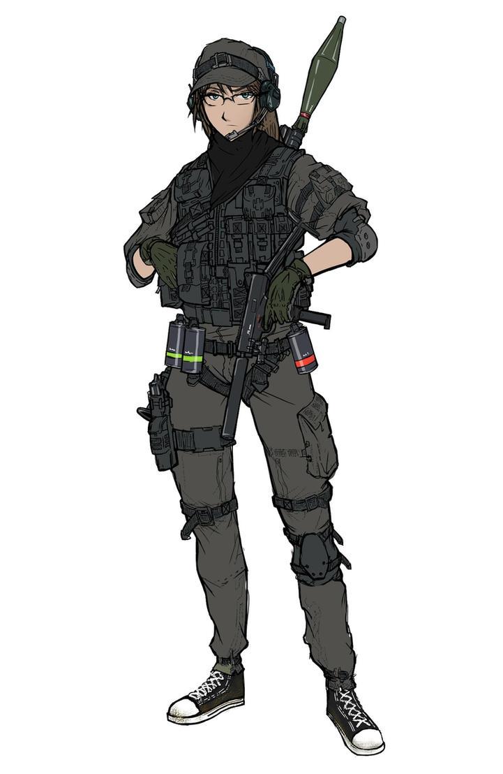 Military Engineer by KharnBetrayer