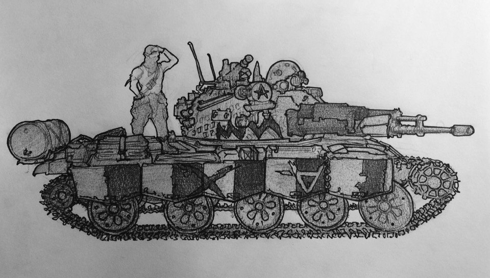 T-62 by YorickAngerfist