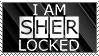 I Am Sherlocked Stamp by ChrisNeville85