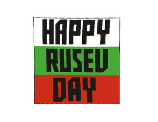Happy Rusev Day Logo Cutout by ChrisNeville85