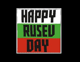 Happy Rusev Day Logo Cutout Version 2 by ChrisNeville85