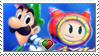 [Comm.] LuigiXPrince Dreambert Stamp by TheKitsuneAlchemist
