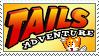 [Comm.] Tails Adventure Stamp by TheKitsuneAlchemist