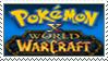 [Comm.] Pokemon X WoW Stamp by TheKitsuneAlchemist