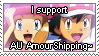 [Comm.] AU AmourShipping Stamp by TheKitsuneAlchemist