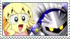 [Comm.] Meta KnightXTiff Stamp by TheKitsuneAlchemist