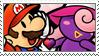 [Comm.] Mario X Vivian Stamp by TheKitsuneAlchemist