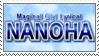 [Comm.] Magical Girl Lyrical Nanoha Stamp by TheKitsuneAlchemist