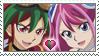 [Comm.] Yuya x Zuzu Stamp by TheKitsuneAlchemist