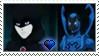 [Comm.] Blue Beetle X Raven Stamp by TheKitsuneAlchemist
