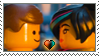 [Comm.] Emmet X Wyldstyle Stamp by TheKitsuneAlchemist