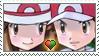 [Comm.] Red X Leaf Stamp by TheKitsuneAlchemist