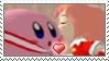 [Comm.] Kirby X Ribbon Stamp by TheKitsuneAlchemist