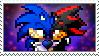 [Comm.] SonicXShadow Stamp by TheKitsuneAlchemist