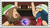 [Comm.] SapphirePearlShipping Stamp (MayXDawn) by TheKitsuneAlchemist