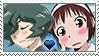 [Comm.] ReiXSuzume stamp by TheKitsuneAlchemist