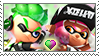 [Comm.] GreenXPink Inkling stamp by TheKitsuneAlchemist