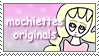 [Comm.] Mochiettes-Originals Support Stamp by TheKitsuneAlchemist