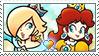 [Comm.] RosalinaXDaisy Stamp by TheKitsuneAlchemist