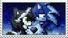 [Comm.] Werehog!SonicXOpal Stamp by TheKitsuneAlchemist