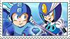 [Comm.] MegamanXSplash Woman Stamp by TheKitsuneAlchemist