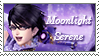 [Comm.] Moonlight Serene Support Stamp by TheKitsuneAlchemist