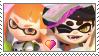 [Comm.] Orange InklingXCallie Stamp by TheKitsuneAlchemist