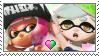 [Comm.] Pink InklingXMarie Stamp by TheKitsuneAlchemist