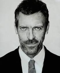 Hugh Laurie by JoanneLuk