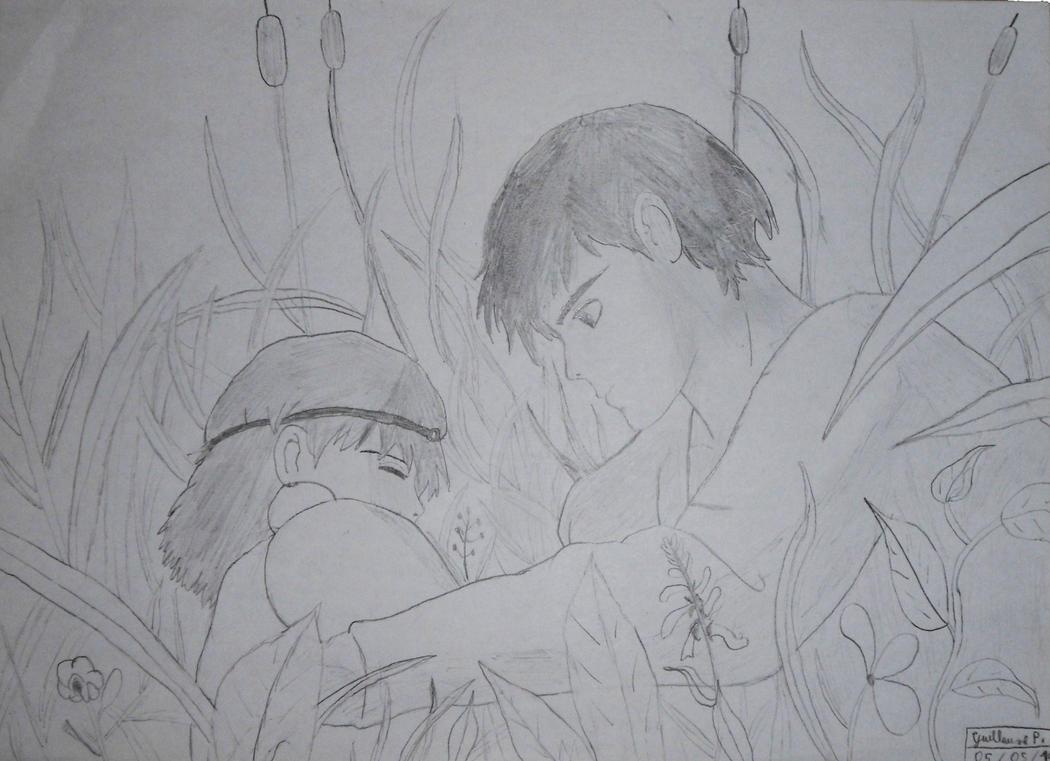 Mononoke Hime by breitzwill