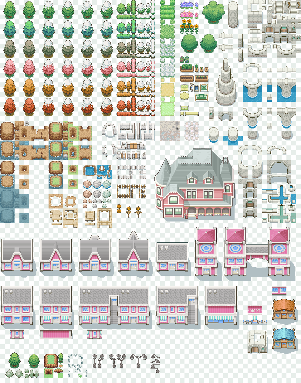 Bunch o' free tiles