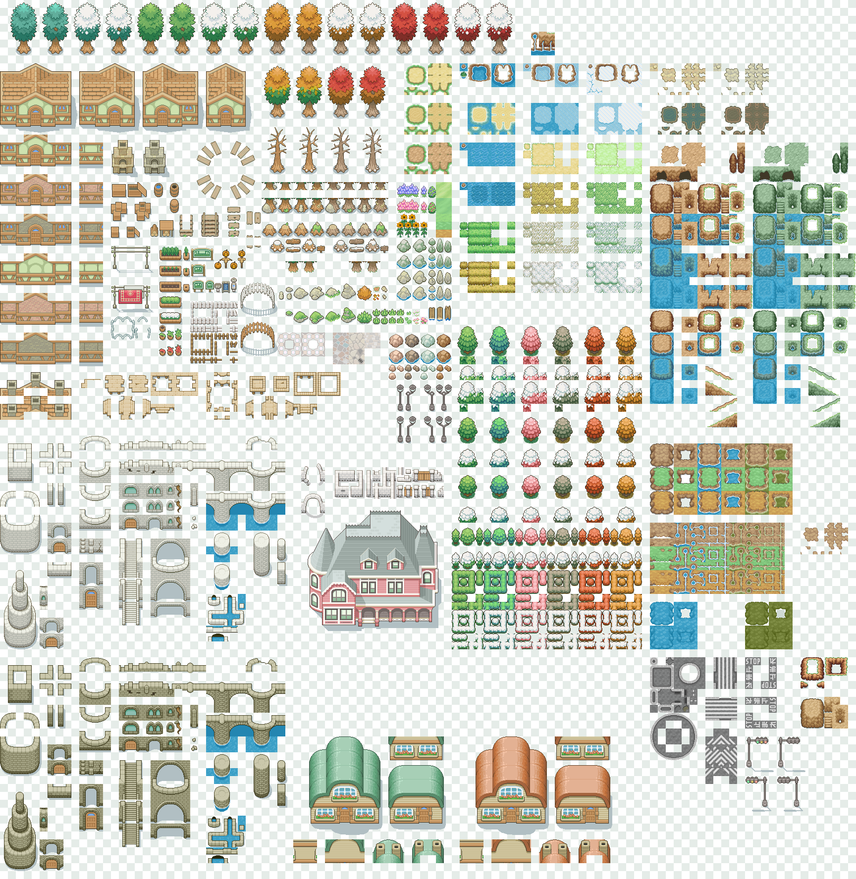 Free New Tiles Mastersheet By Magiscarf On Deviantart