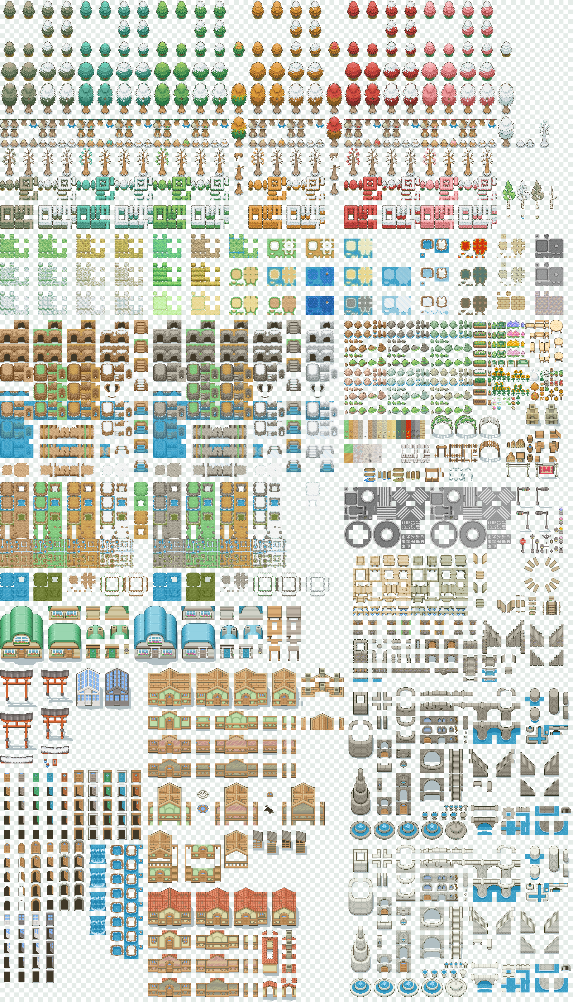 Tileset ver.3 [Free] by Magiscarf