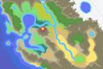 Calta Region Map (WIP) by Magiscarf