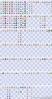 Sprite Sheet w/ Backsprites w/ Shinies [WIP]
