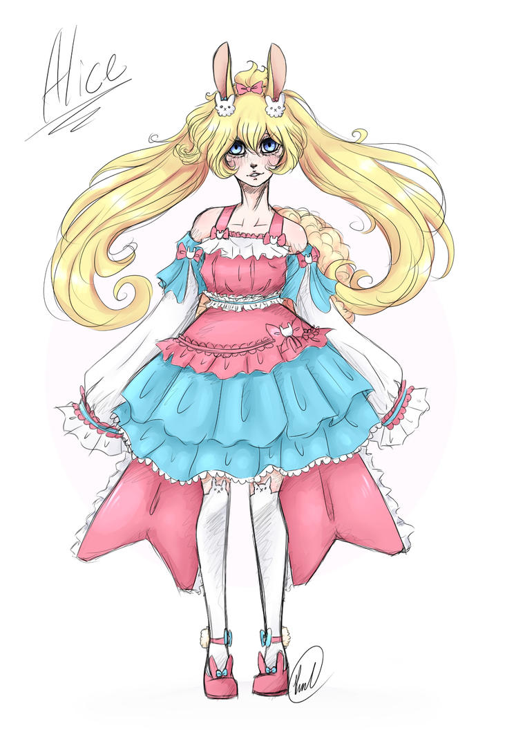 Alice Fluffian (Request) by PMKawaiiAK