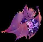 happy vampire bat