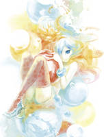 bubble by uroko