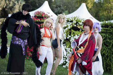 Zone 00 cosplay group