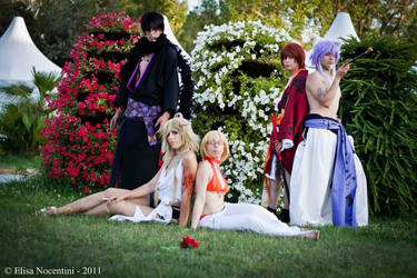 Zone 00 cosplay group 2