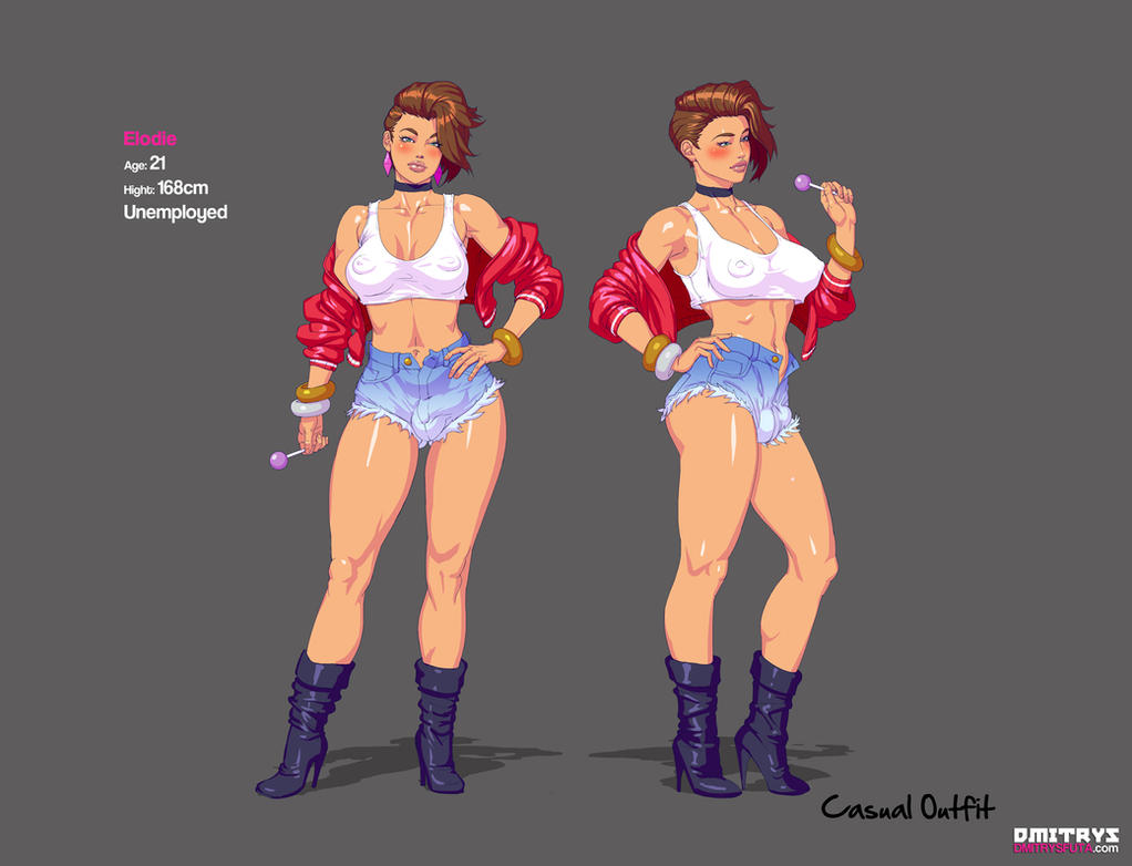 Elodie Casual outift by Dmitrys