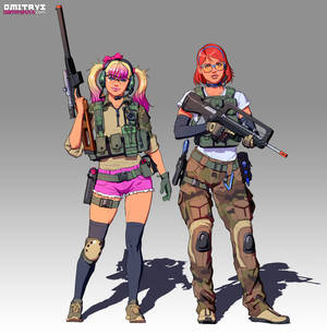 Tacticool Peach and Joelle