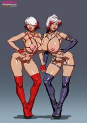 Bondage Sisters by Dmitrys