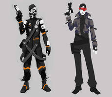 shooter char by Dmitrys