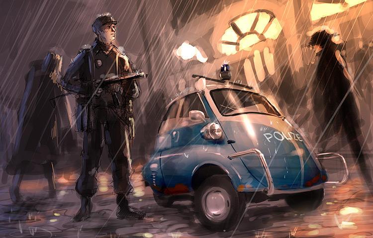 Isetta Polizie WIP By Dmitrys On DeviantART